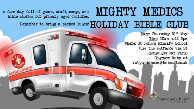 Mighty Medics Holiday Bible Club